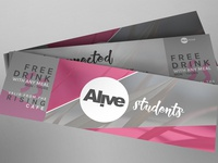 Alive Student Tickets