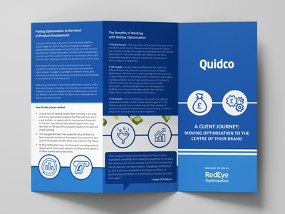 Quidco Client Story TriFolds