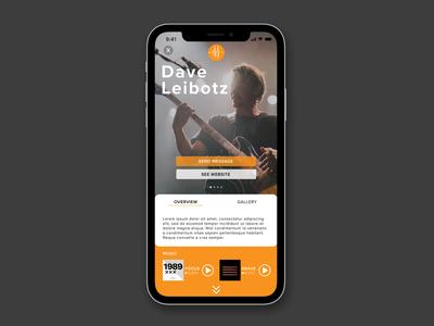 Bandmeet Profile Concept