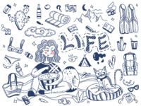 life doodle
