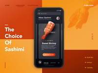 Sashimi UI movement