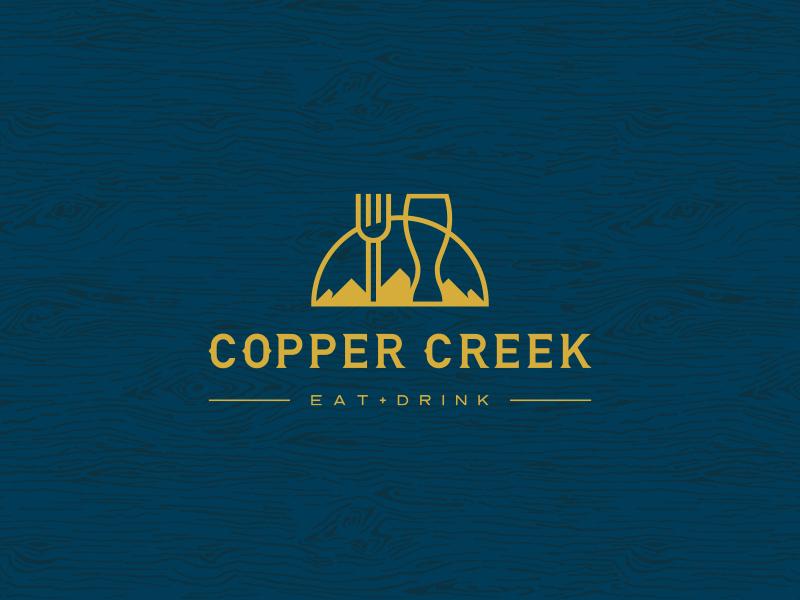 Copper creek dribbble logo 01