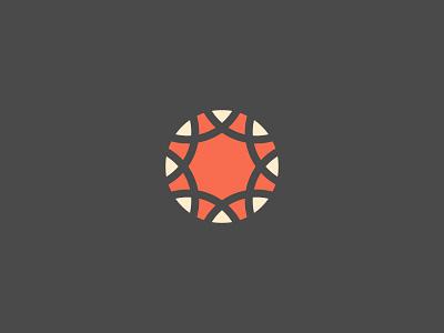 CNIGA Logo Design refresh simple branding nations indian sun mark identity logo woven cniga