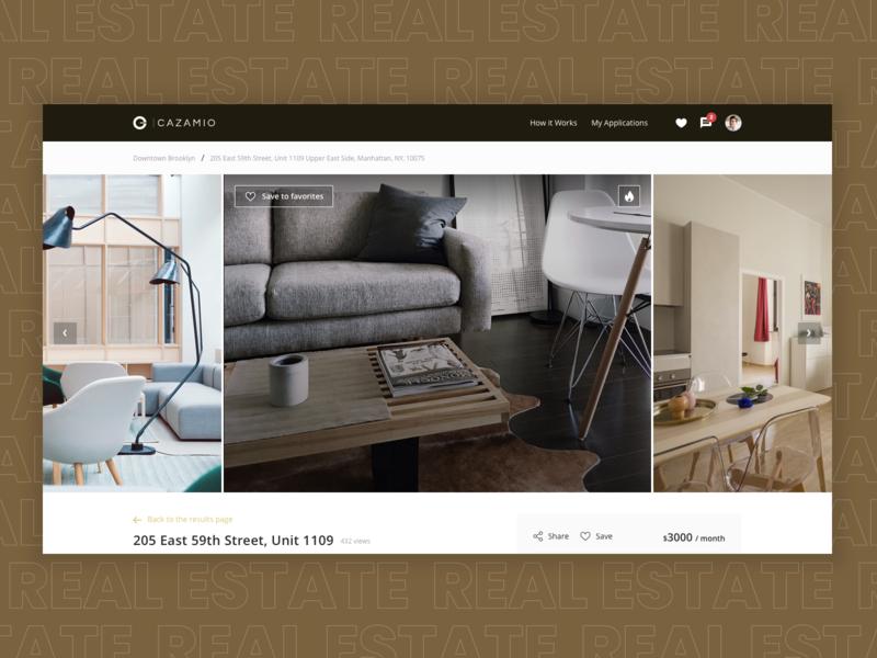 Rental Apartments Website