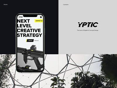YPTIC webdesign design web branding illustration logo ux ui website responsive iphone mobile