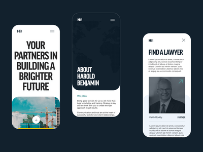 London Lawyer law firm solicitors solicitor lawyer law apple app responsive mobile app mobile branding landing page minimal digital design webdesign web design ux ui website