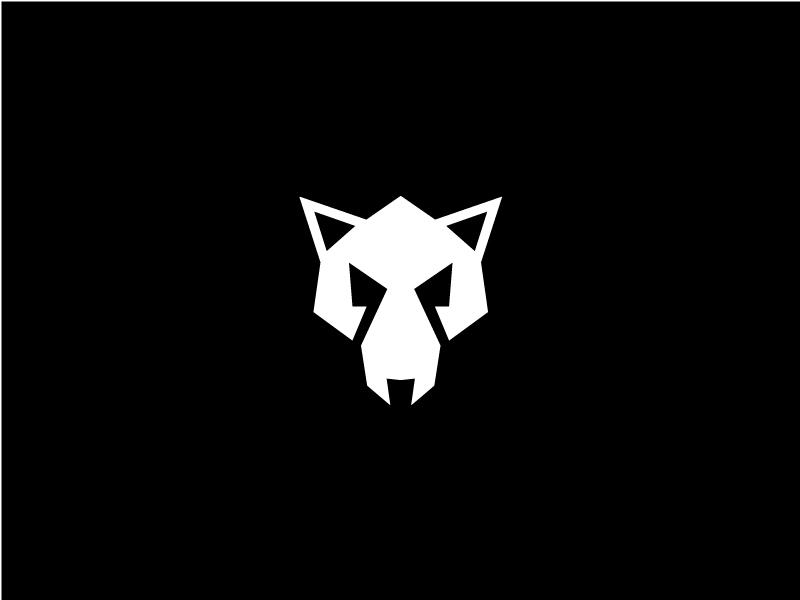wolf logo by ashton patel dribbble