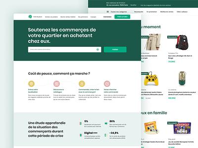 E-commerce website — Homepage user testing logo ethical web graphic  design branding design ecommerce service design product design ux ui
