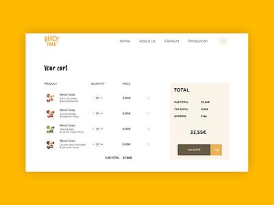Product website #2 product web  design sketch chocolate food shop cart website web ux ui typography design graphic  design