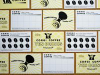 Corgi Coffee Loyalty Cards & Vouchers