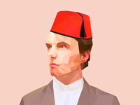 Low Poly Portrait