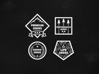 Saga Outerwear Logos