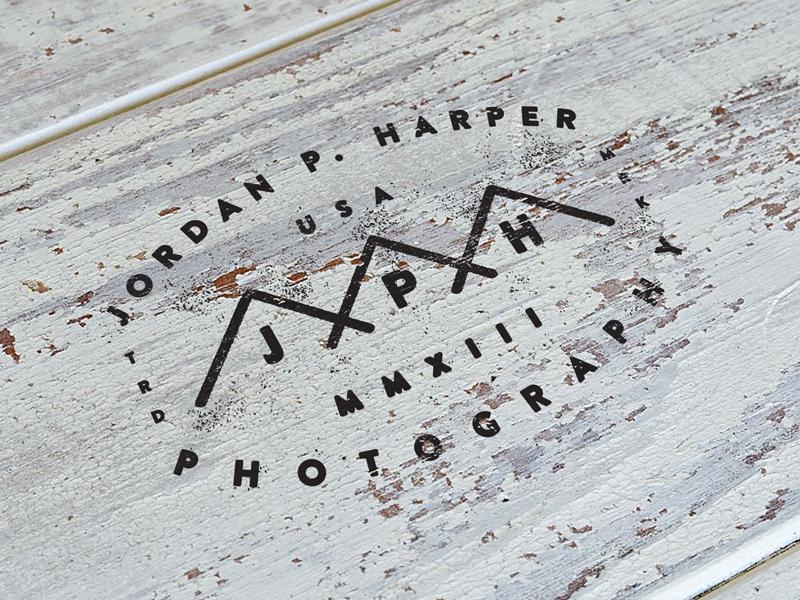 Logo WIP logo vintage americana script vector handstyle unionduesdesign chessin dustin badge wood