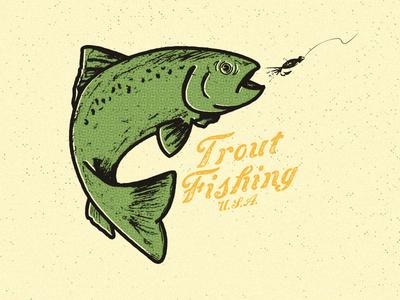 Trout Fishing U.S.A.