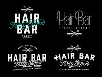 Hair Bar 47 Logos
