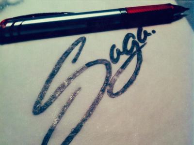 Saga by hand