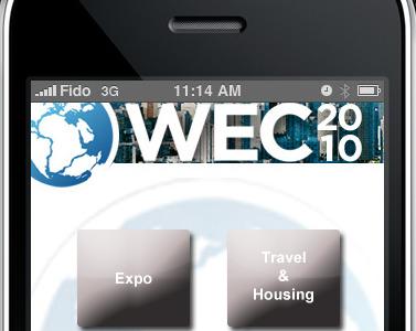 Wec2010 wec iphone app