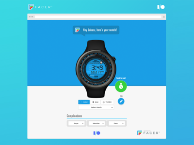 Google I/O - Android Wear - Facer android google googleio android wear