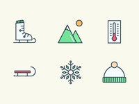 Winter icons extended