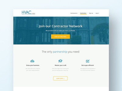 Contractor Landing Page