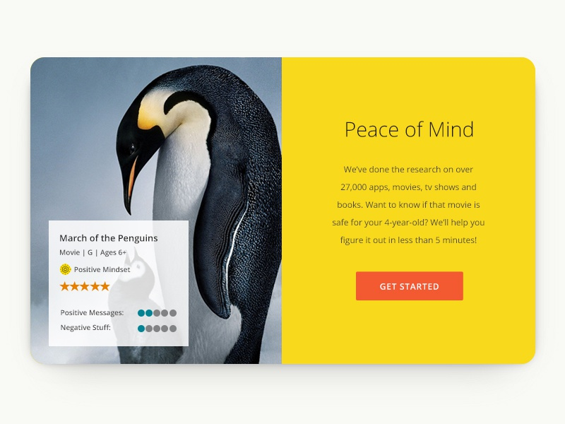 Landing page highlight landing page ux yellow reviews