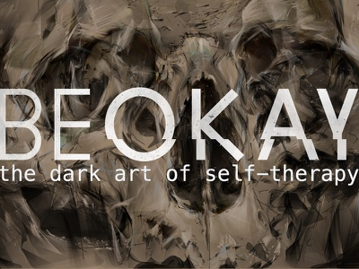 #BEOKAY: The Dark Art of Self Therapy art therapy illustration painting drawing digital