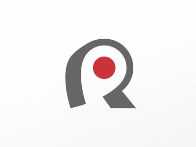 Rental Locator serch location mark r logo