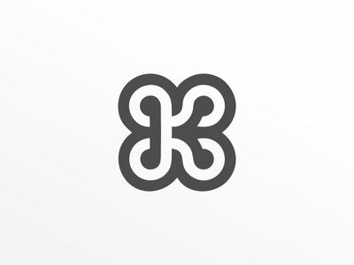 karma logo k logo design typogaphy branding logo