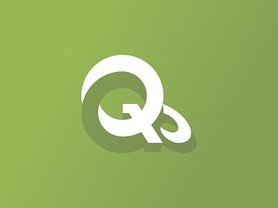 qubit 10 logo q logo design typogaphy branding logo