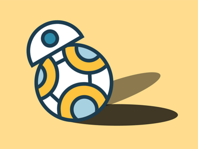BB-8 in Pure CSS nojs pure css html star wars