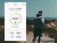 Runny iOS App - Concept