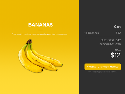 Bananas Receipt food receipt purchase payment e-commerce meal banana