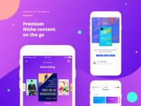 Bluesophy Mobile App
