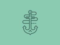 Anchors away.
