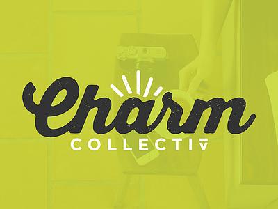 Charm Collectiv charm collectiv puke green green texture logo baltimore