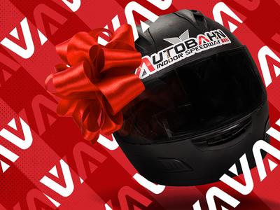 Go Karts & Egg Nog. patterns plaid ribbon christmas racing autobahn go karts