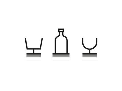 Pub drink iconography