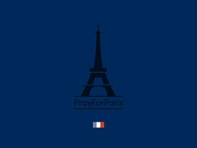 Pray For Paris memorial france flag eiffel tower paris