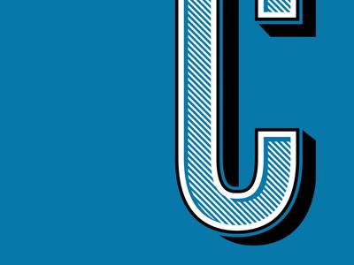 Crêperie Typography