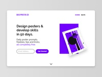 Daily Poster Co Landing Page
