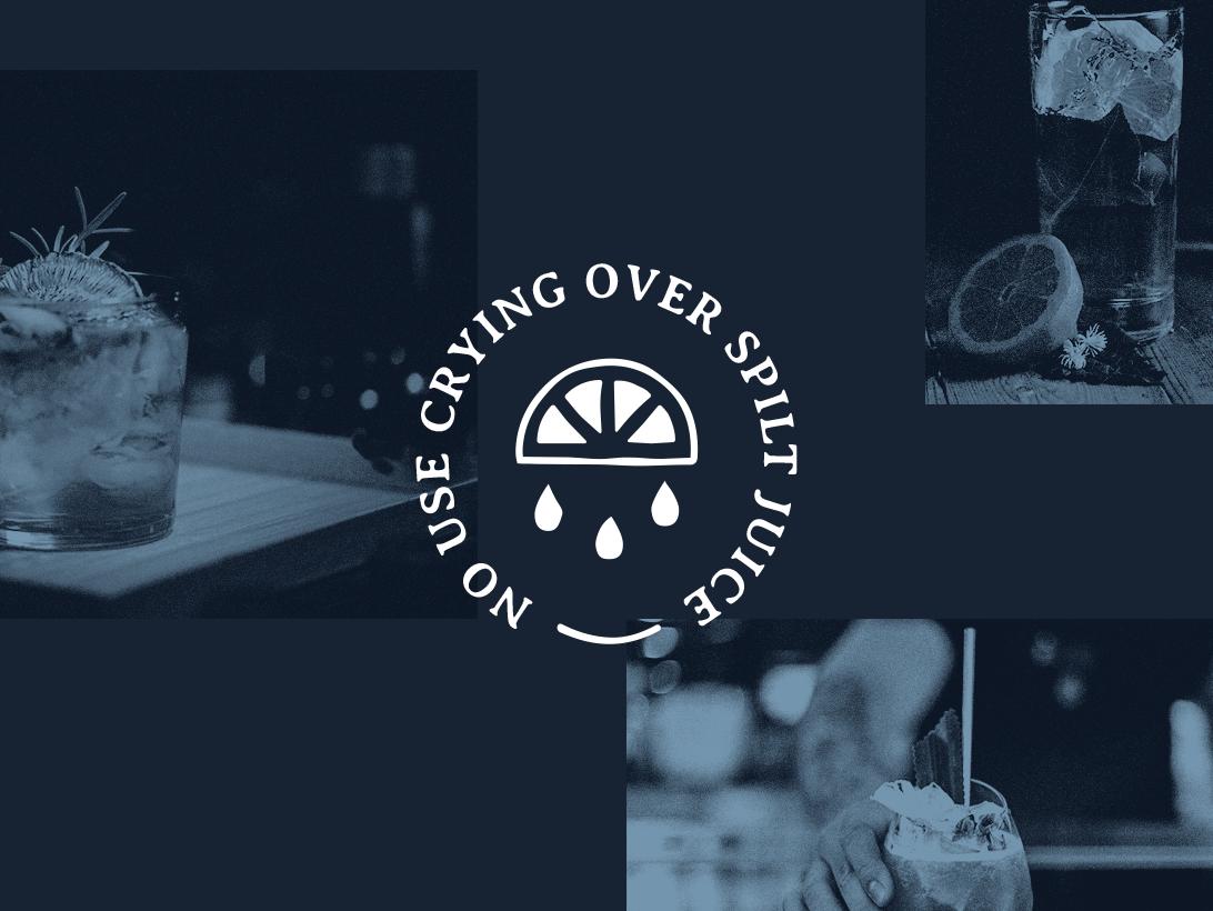 Spilt Juice icon typography logo design daily branding simple