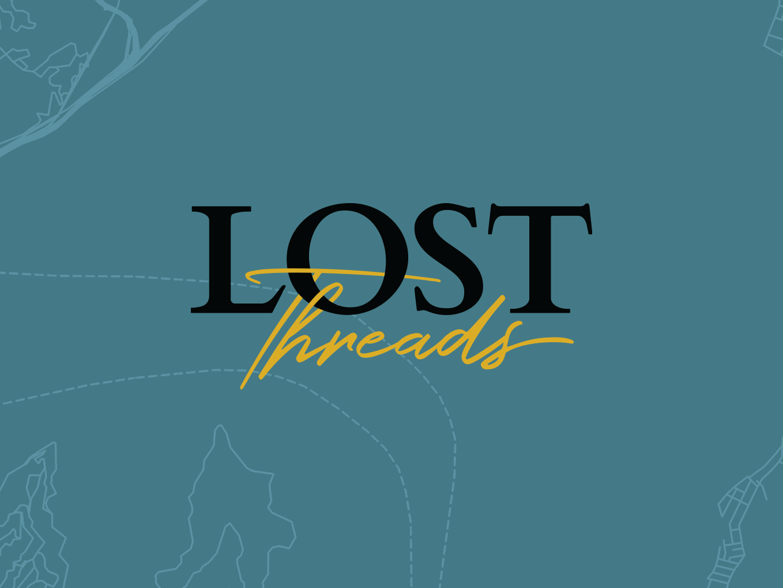 Lost Threads Logo illustration icon logo daily branding design simple