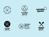 Wooden Spoon logo options