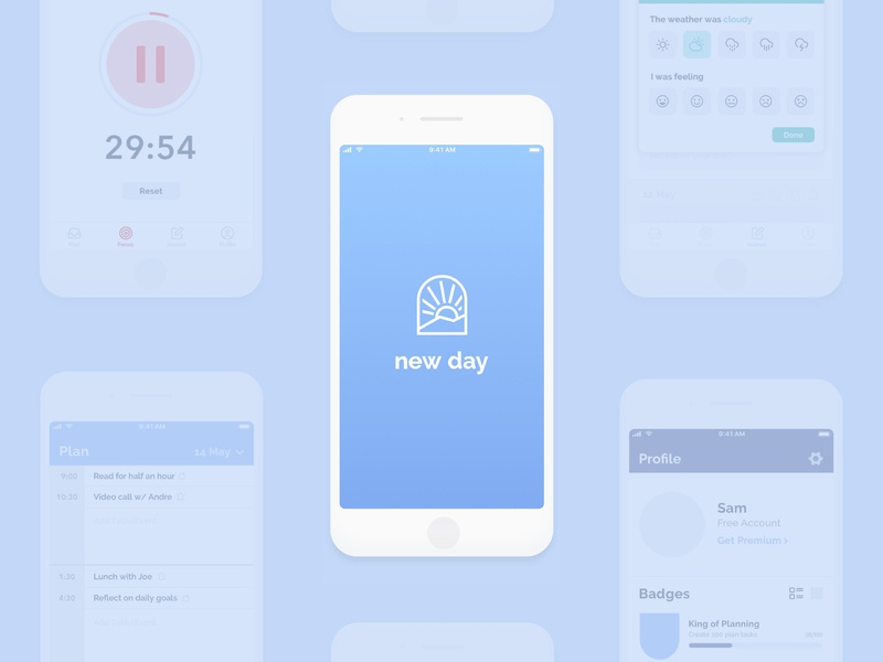 New Day App Concept