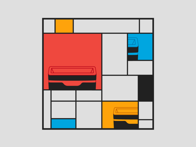 Method Recycling inspired by Mondrian