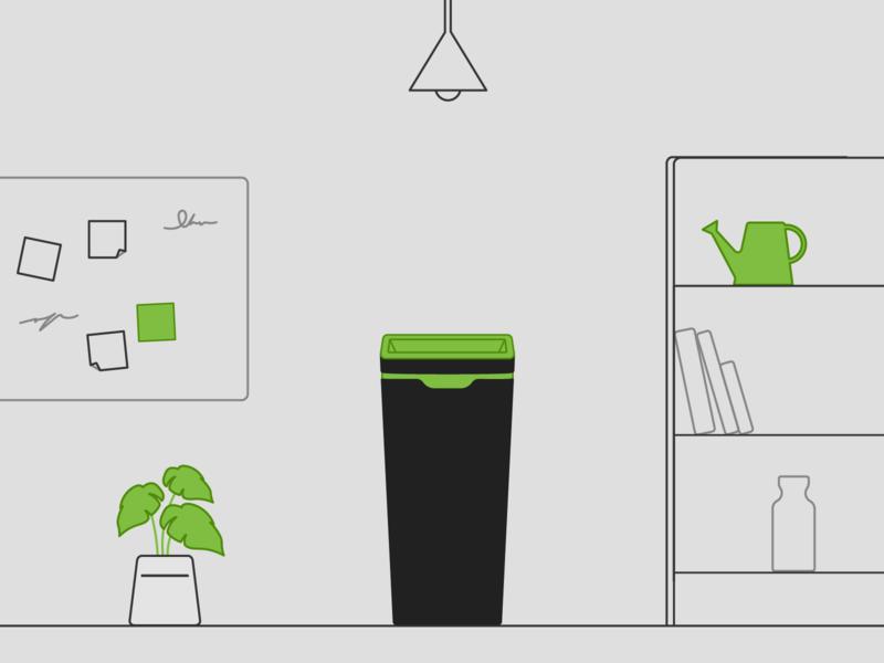 Method Recycling Green Illustration