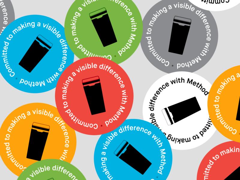 Method Recycling Badge