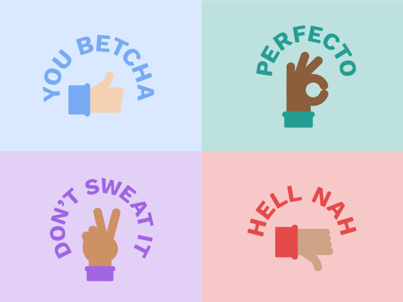 Simple Hand Reactions
