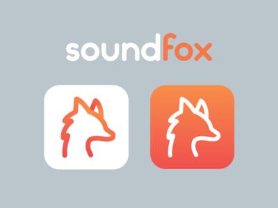 SoundFox Logo & App Icon