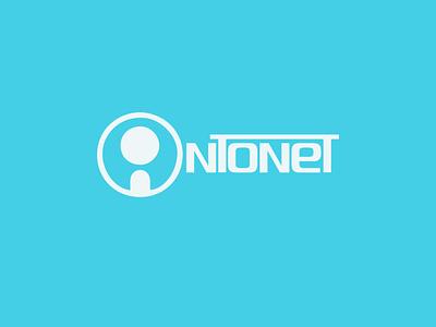 intoNet Logo graphic design intonet logo ui design branding logo